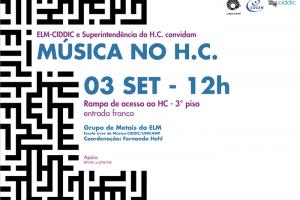 Apresentação do programa Música no H.C com o Grupo de Metais da ELM