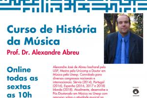 Escola Livre de Música da Unicamp/CIDDIC – Curso de História da Música – 2020