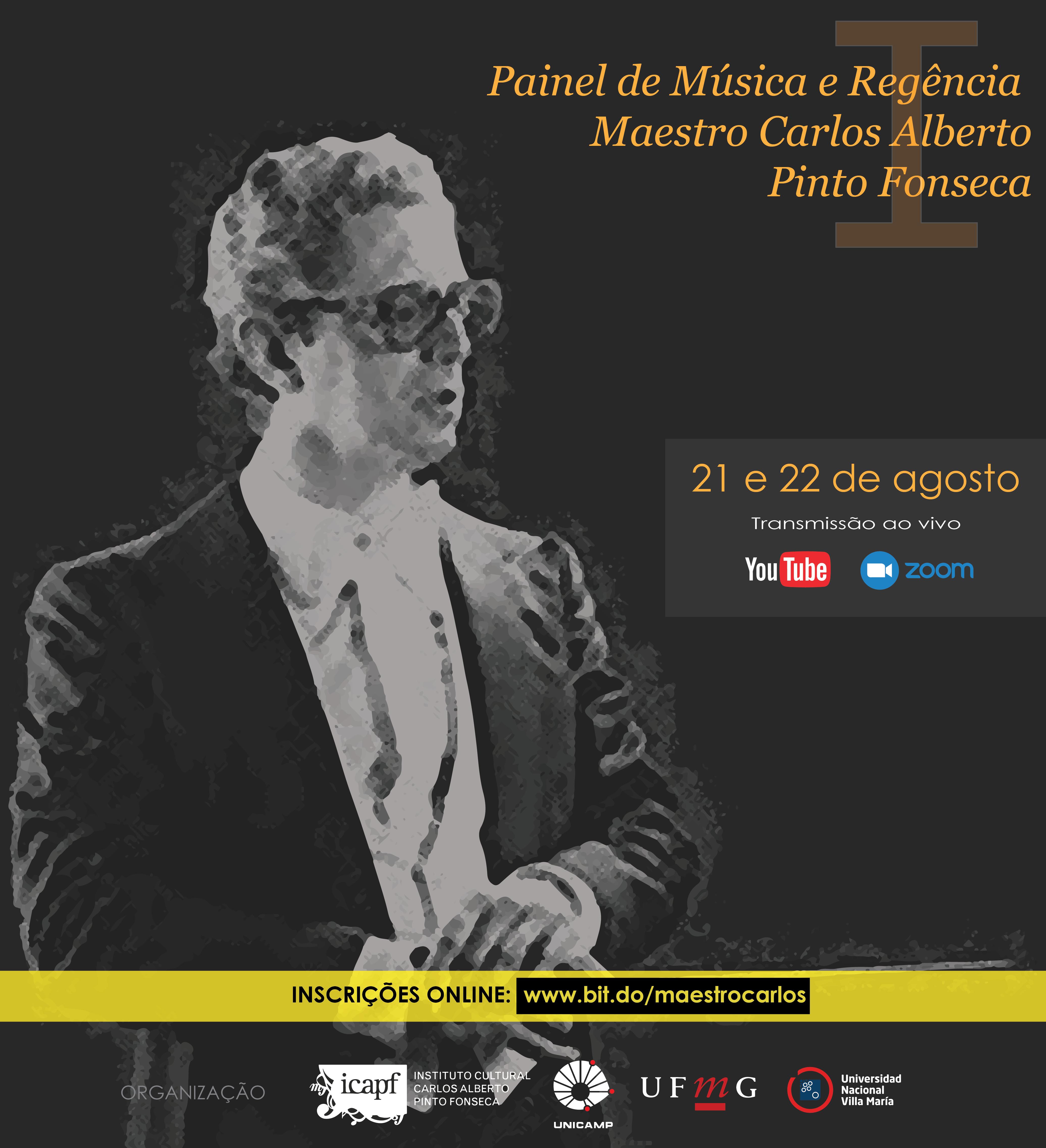 Flyer do I Painel Carlos Alberto Pinto Fonseca