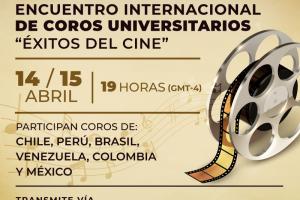 "Coral Unicamp Zíper na Boca participa do Encuentro Internacional de Coros ""Éxitos del Cine"""