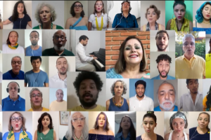 Estreia do 1º vídeo do Coral Unicamp Zíper na Boca em 2021: AQUARELA DO BRASIL